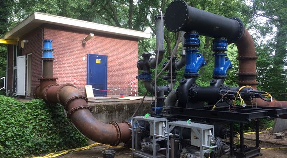 Eekels Pompen supports Croonwolter&dros during a major project to refurbish 23 pumping stations in North Brabant